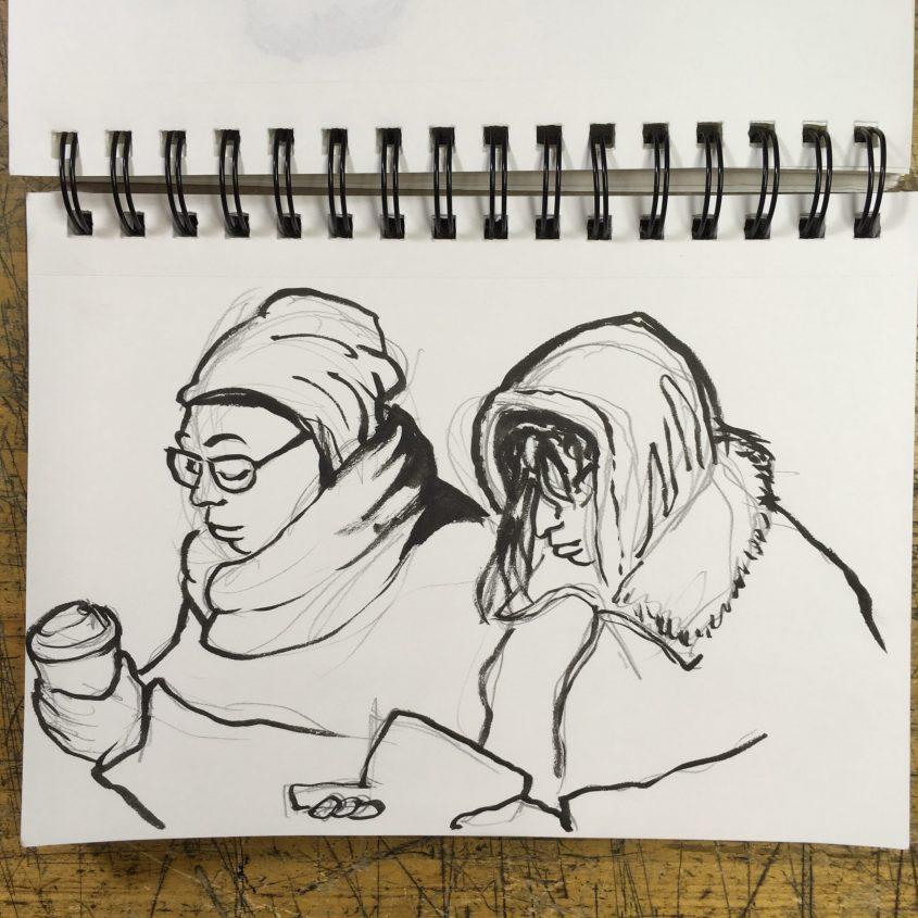 Subway Sketches
